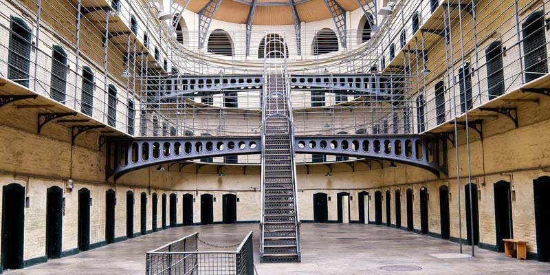 Irish Rugby Tours to Dublin - Kilmainham Gaol