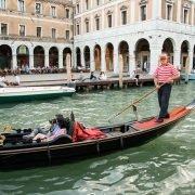 Irish Rugby Tours to Italy - Venice - Gondola Canel Ride