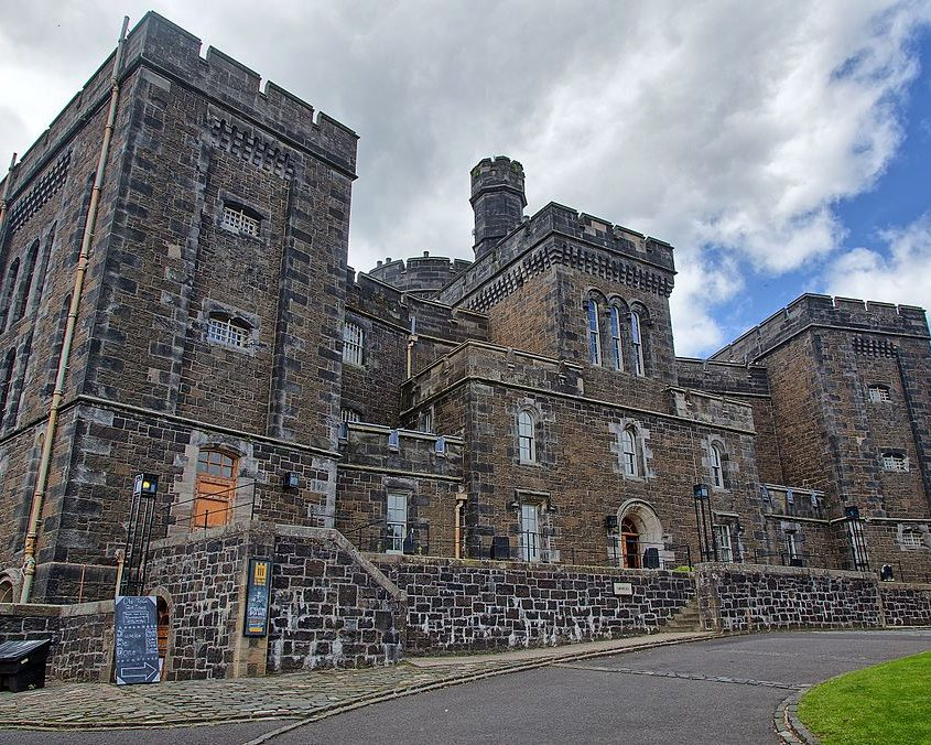 Stirling Old Town Jail - Stirling Rugby Tours