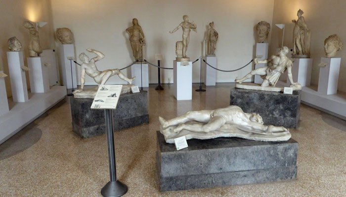 Irish Rugby Tours to Italy - Venice - National Archaeoligcal Museum