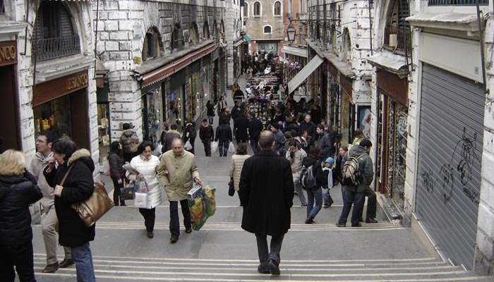 Irish Rugby Tours to Italy - Venice - Walking Tours