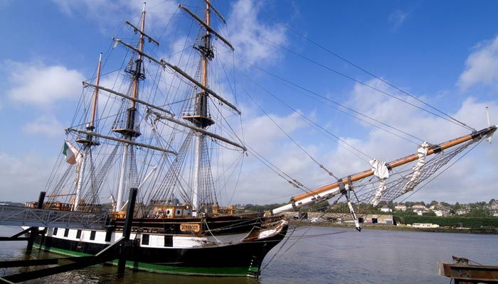 Irish Rugby Tours to Wexford - Dunbrody Famine SHip