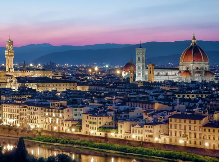 Irish Rugby Tours to Italy - Florence