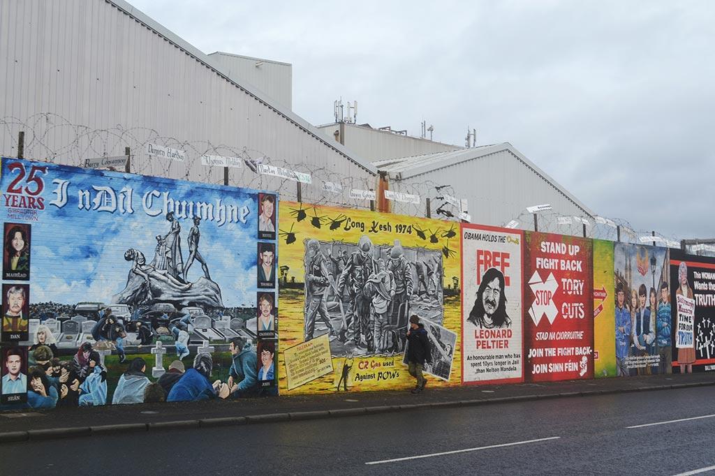 Peace Walls Belfast Tours