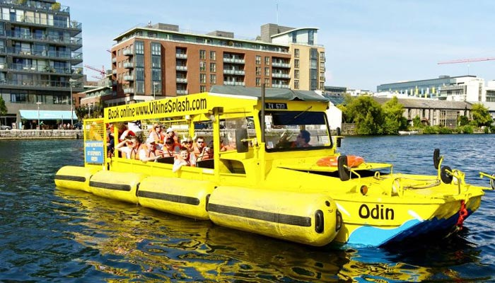 Irish Rugby Tours to Dublin - Viking Splash Tour