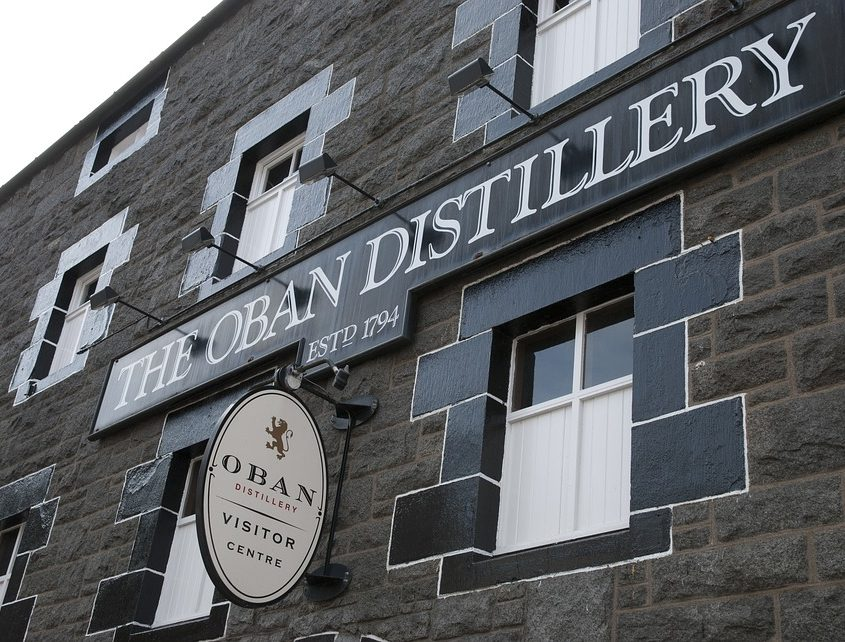 Oban Distillery - Rugby Tours to Scotland