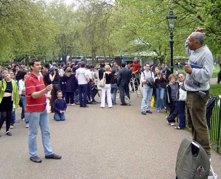 Speakers Corner - Rugby Tours in London