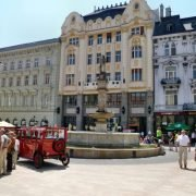 The Fountain -Rugby Tours To Bratislava