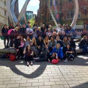 Basingstoke Girls Arrive In Belfast - Irish Rugby Tours To Belfast