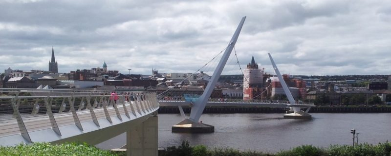 Peace Bridge, Derry - Irish Rugby Tours, Rugby Tours to Derry