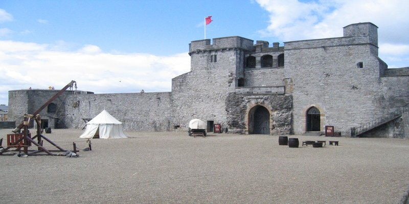 King John's Castle -Irish Rugby Tours, Rugby Tours To Limerick