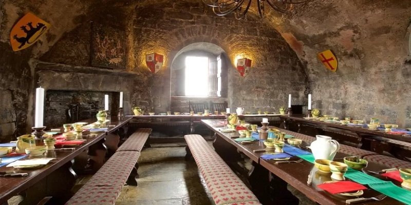 Dunguaire Castle Banquet - Irish Rugby Tours, Rugby Tours To Galway
