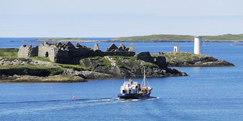 Inishbofin Harbour - Irish Rugby Tours, Rugby Tours To Galway