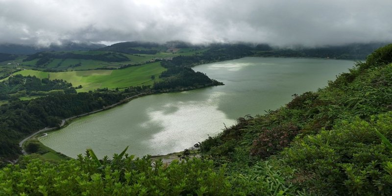 Lake Furnas - Irish Rugby Tours, Pulsating Portugal