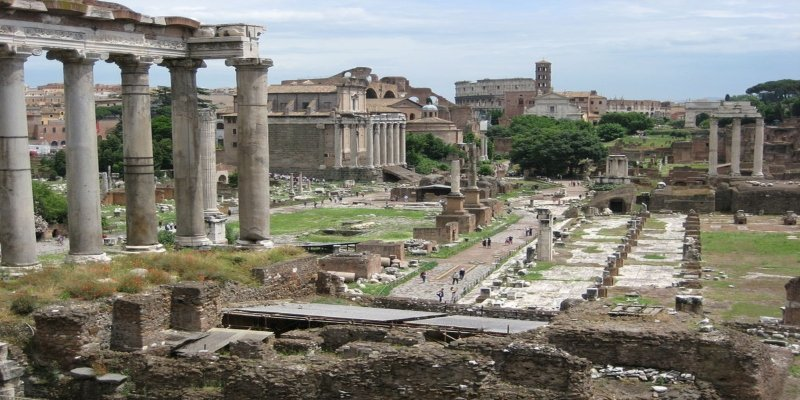 Rome's Forum - Irish Rugby Tours, Rugby Tours To Rome