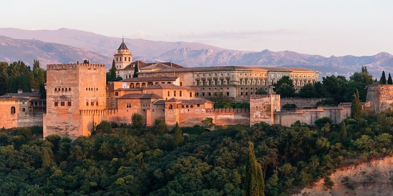 Dawn Charles V Palace Alhambra - Spectacular Spain, Irish Rugby Tours, Rugby Tours To Spain