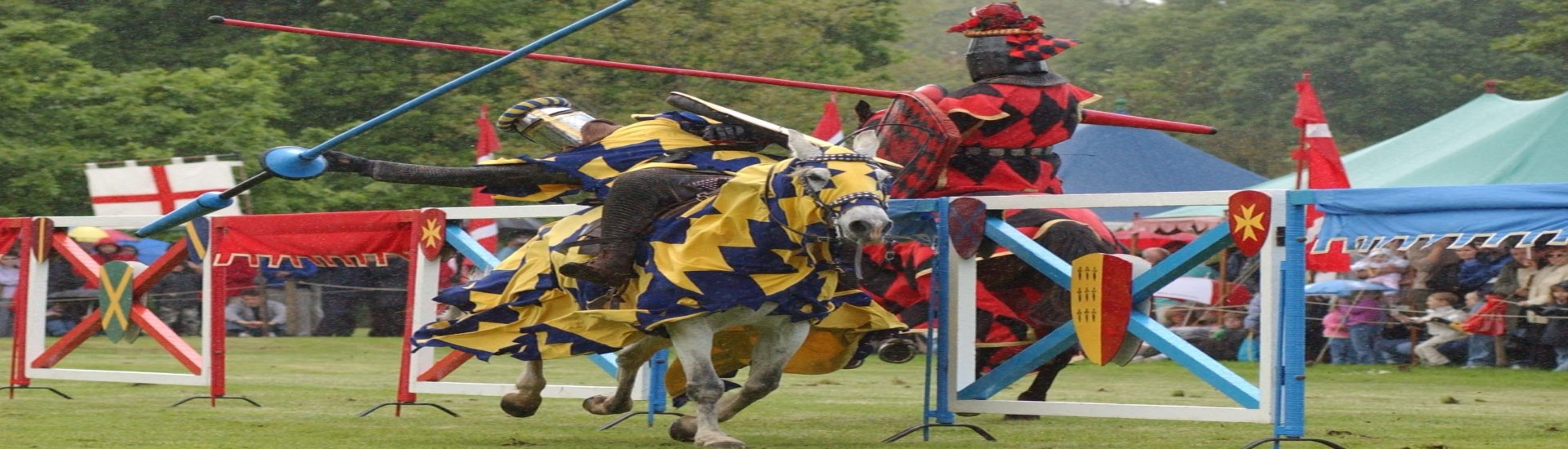 Jousting at Warwick Castle - Rugby Tours To Warwick