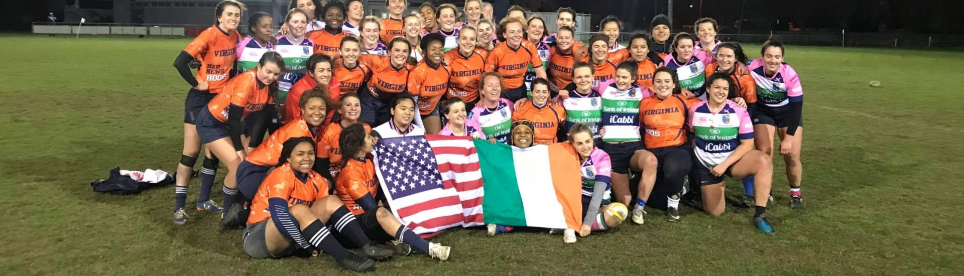 Virginia University WRFC Rugby Tour To Ireland 2019 - Irish Rugby Tours, Rugby Tours To Ireland, Women's Rugby Tours