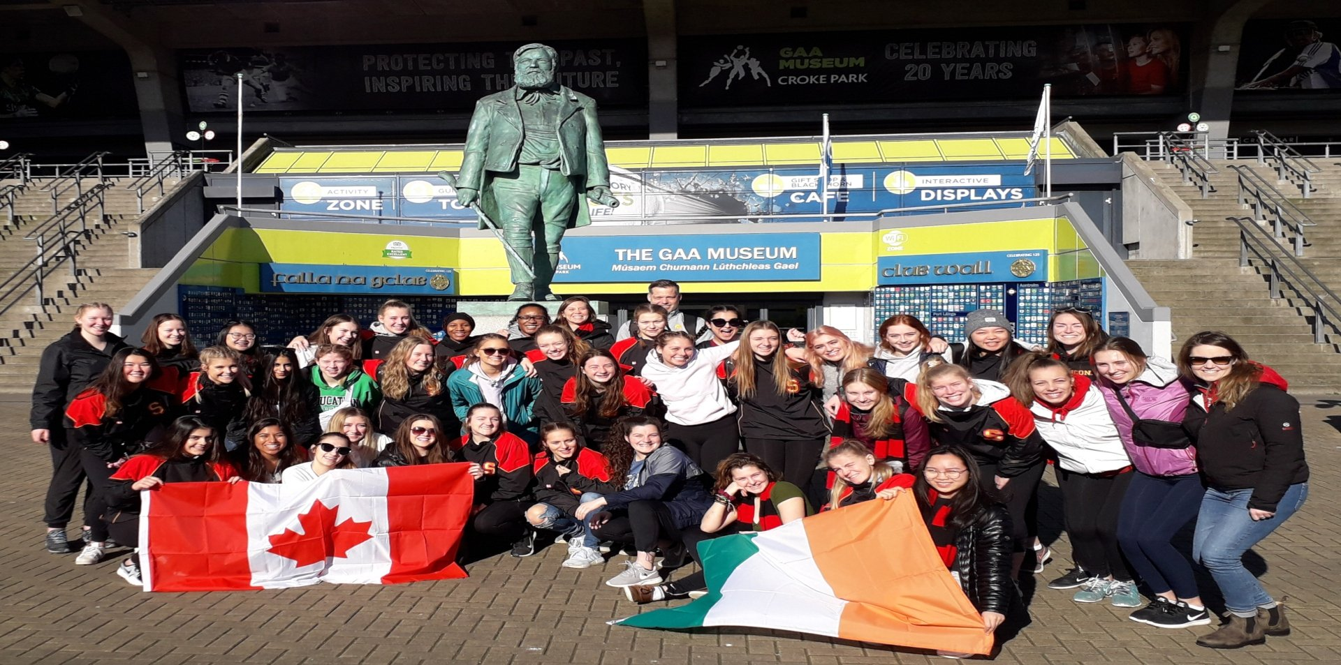 Canadian High School rugby tour to Ireland