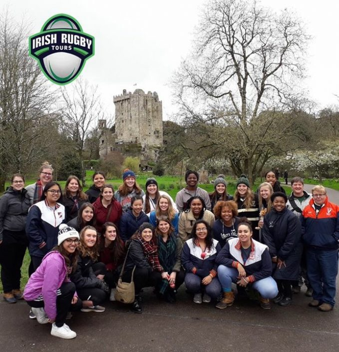 A picture of a tour organised by Irish Rugby Tours