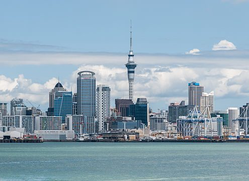 Auckland Skyline - Rugby Tours To Auckland, Irish Rugby Tours
