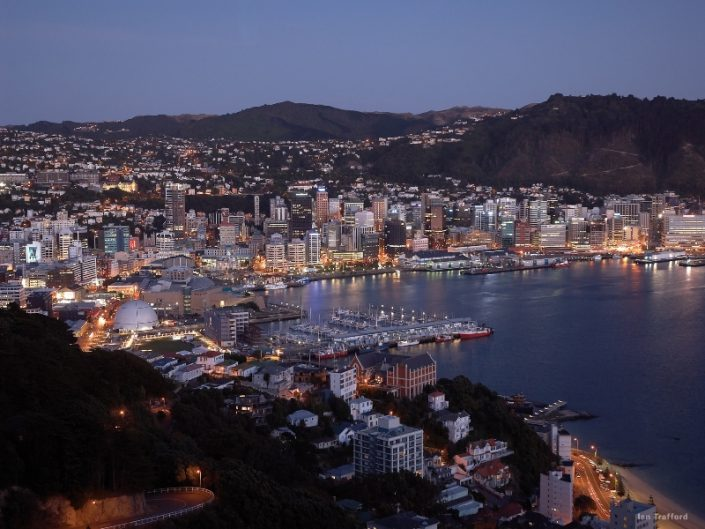Wellington Harbour - Irish Rugby Tours, Rugby Tours