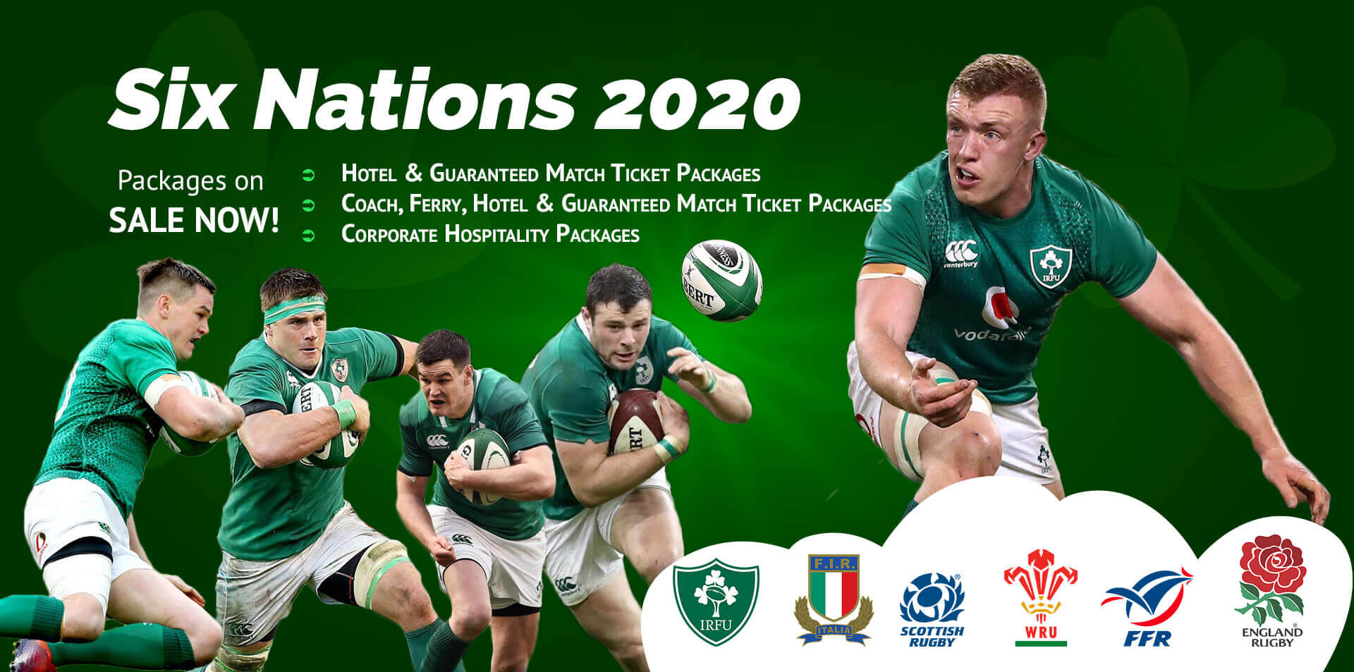 Six Nations 2020 Packages