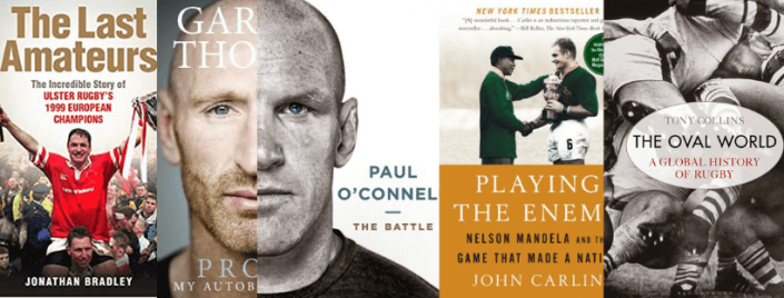 Irish Rugby Tours recommends 5 rugby books for summer