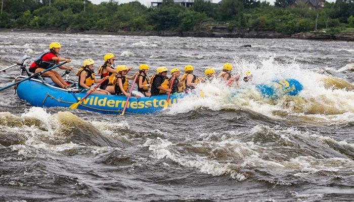 Whitewater Rafting - Rugby Tours To Ottawa, Irish Rugby Tours
