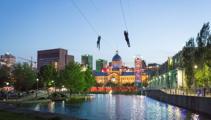 Zip Line Montreal - Rugby Tours To Montreal, Irish Rugby Tours