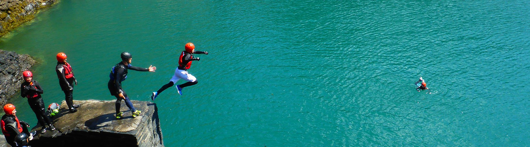 Blue Lagoon Coasteering - Irish Rugby Tours, Activities for Thrill Seekers
