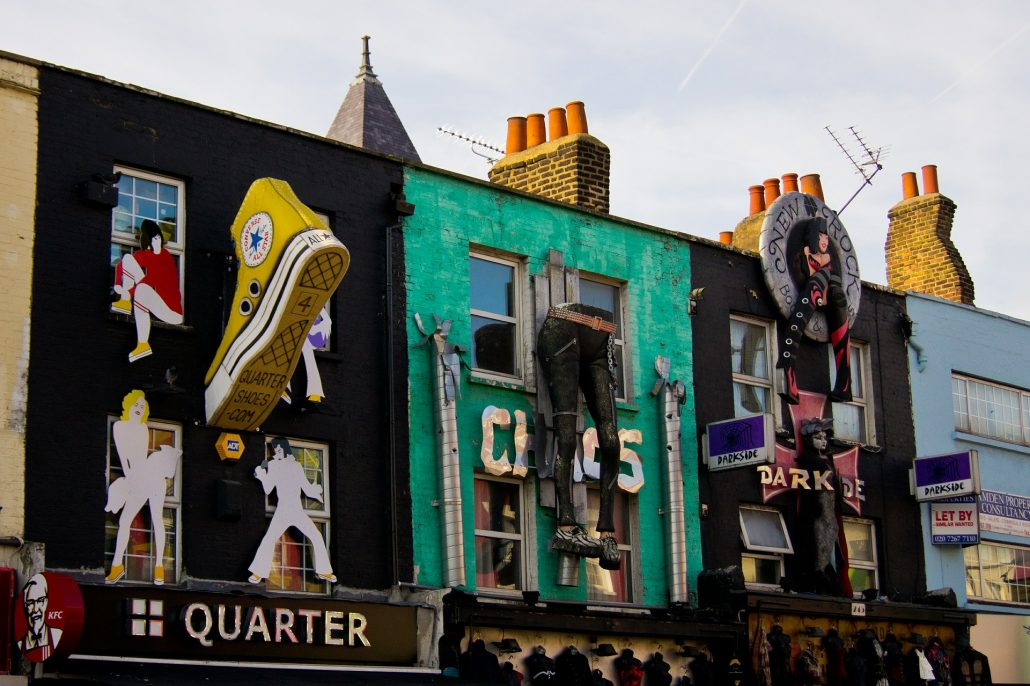 Camden Market - Rugby Tours Irish